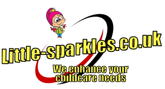 Childcare childminder little sparkles logo